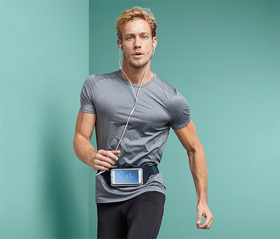 Smartphone Sports Belt, Navy