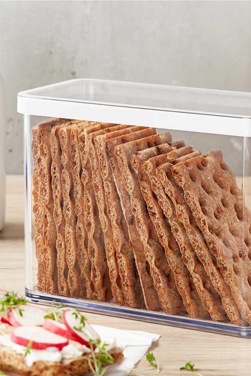 Storage Box for Crispbread, Transparent