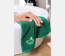 Special Cleaning Cloth Set Of 3, Yellow/Green