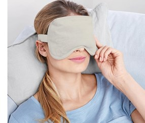 Warm And Cold Eye Mask, Gray