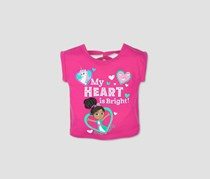 Nickelodeon Toddler Girl's  Nella the Princess Knight  Short Sleeve T-Shirt, Pink