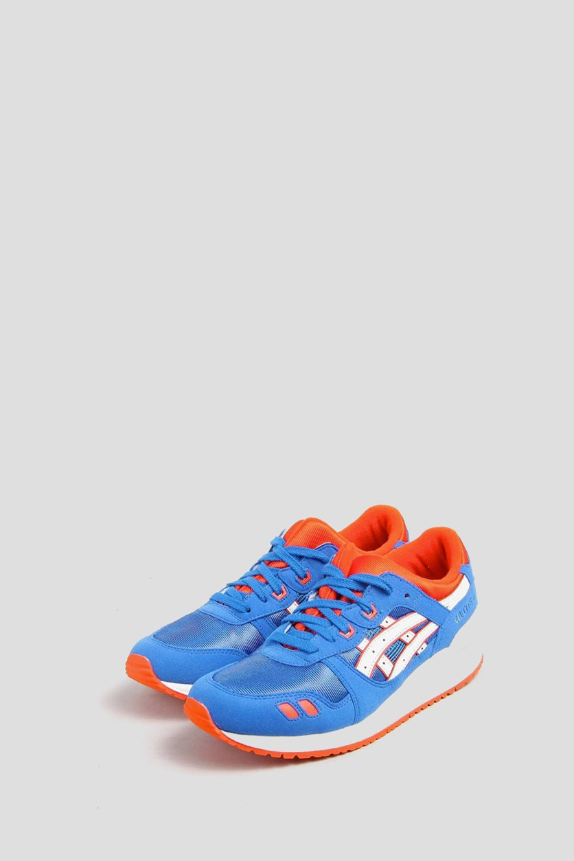 Boy's Gel-Lyte III Gs Sneakers, Blue/White/Red