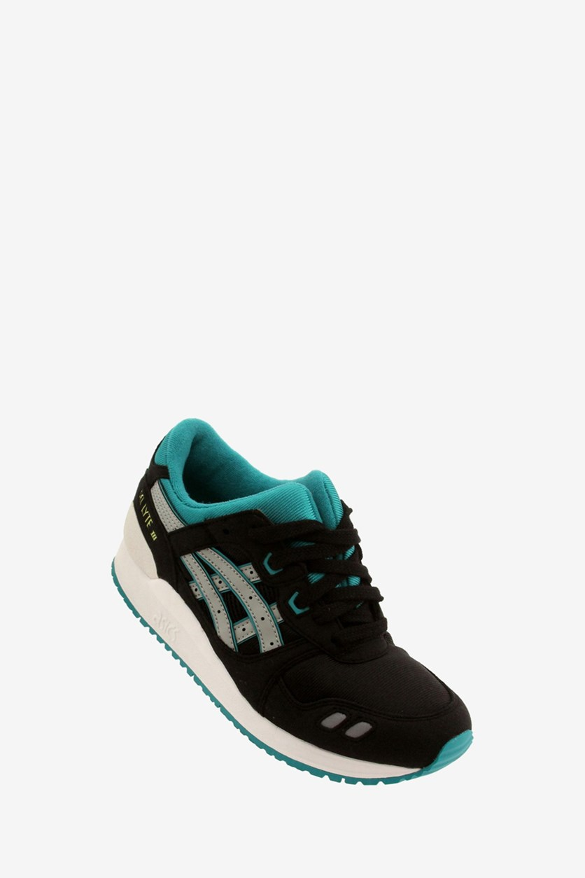 Boy's Gel-Lyte III Gs Sneakers, Black/Gray Combo