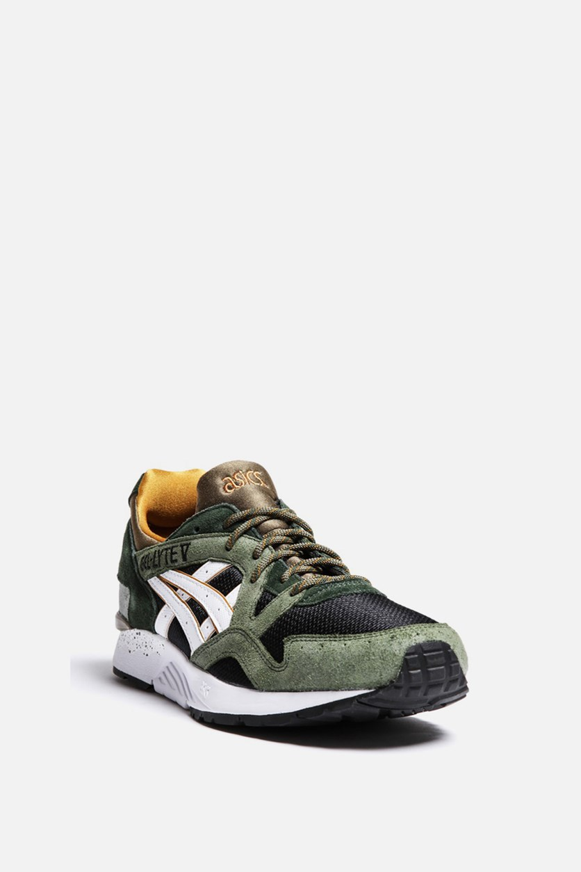 Men's Gel-Lyte V Trail Casual Shoes, Black/White/Olive