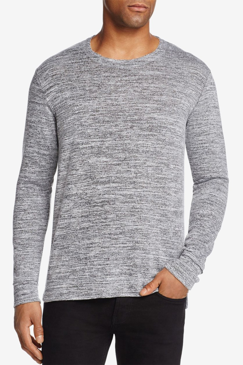 Men's Burgess Crewneck Tee, Charcoal Heather