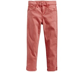 Celebrity Pink Super Soft Colored Denim Jeans, Faded Rose