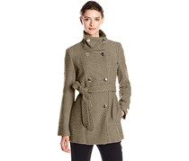 Calvin Klein Women's Coat, Oatmeal