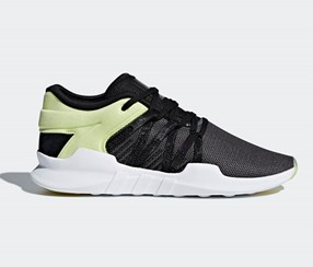 Adidas Women's  Sports Shoes, Grey/Lime Green/Black