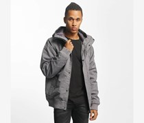 Men's All Day Hooded Jacket, Black Heather