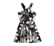 Miss Behave Girl's Wiona Dress, Black