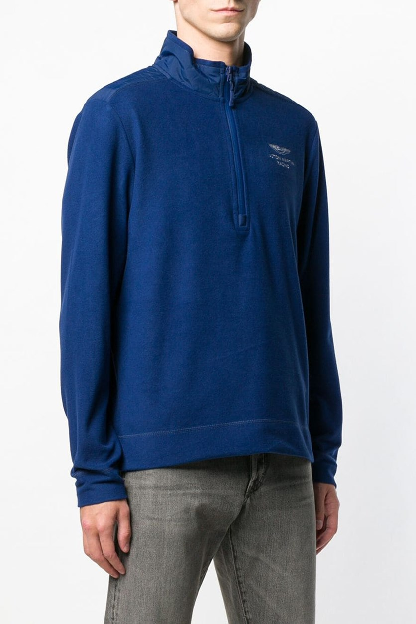 Aston Martin Racing Half Zip Fleece Sweater, Navy