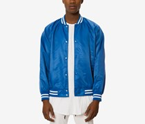 Jaywalker Men's Varsity Jacket, Blue
