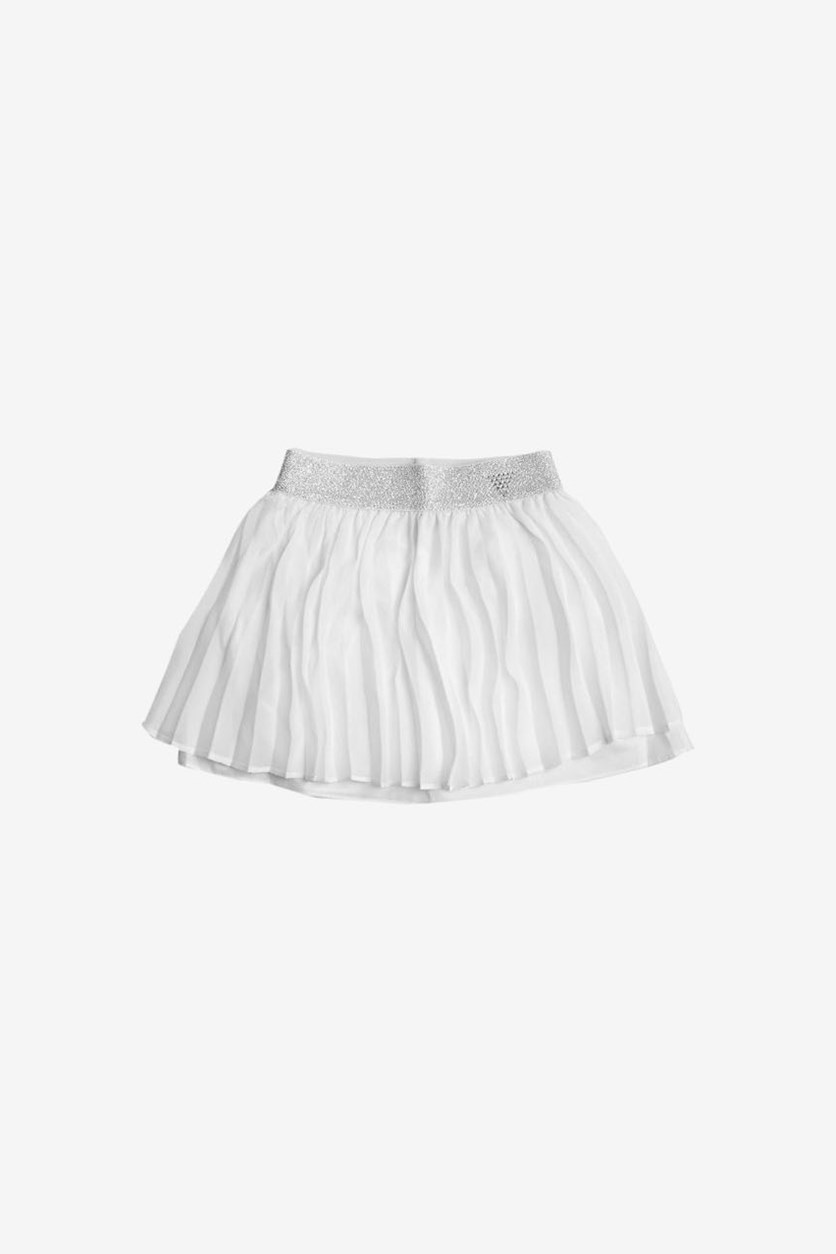 Kids Girls Chiffron Skirts, White
