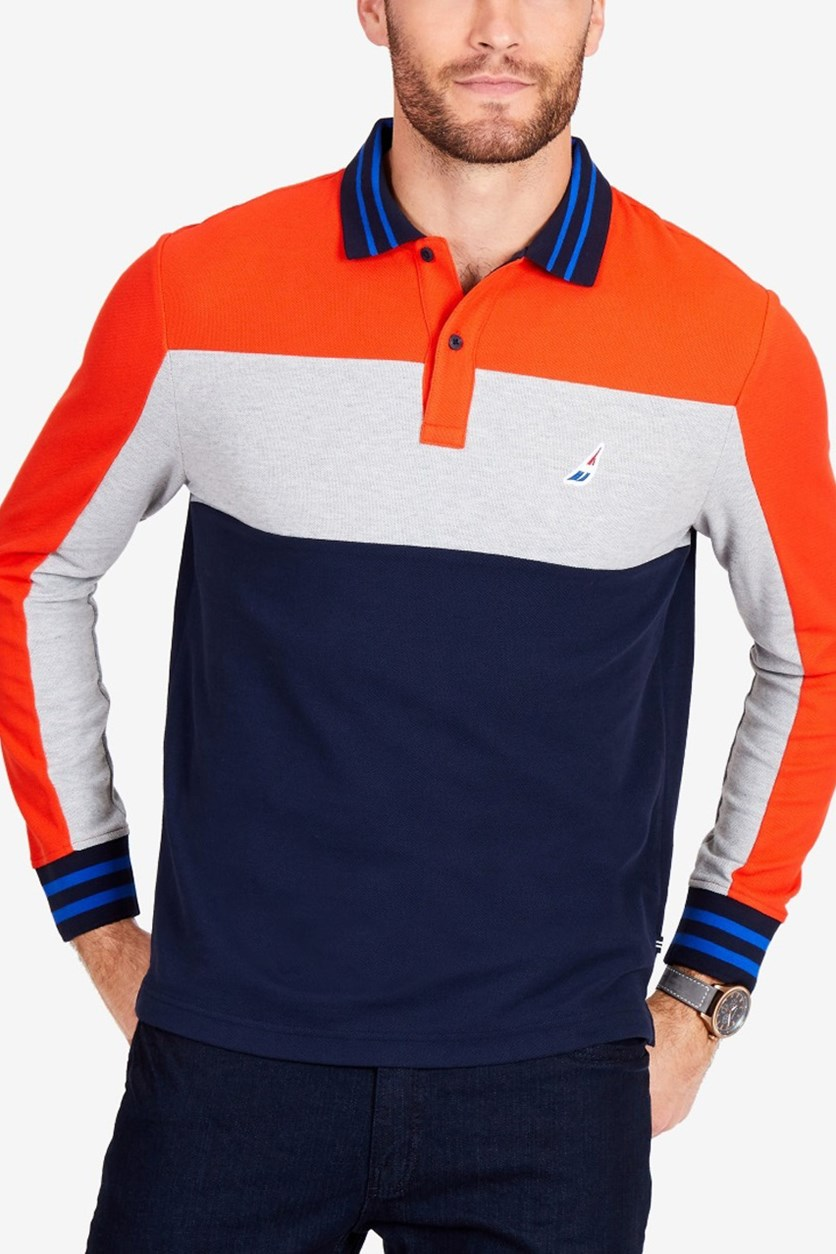 Men's True Deck Polo Shirt, Orange