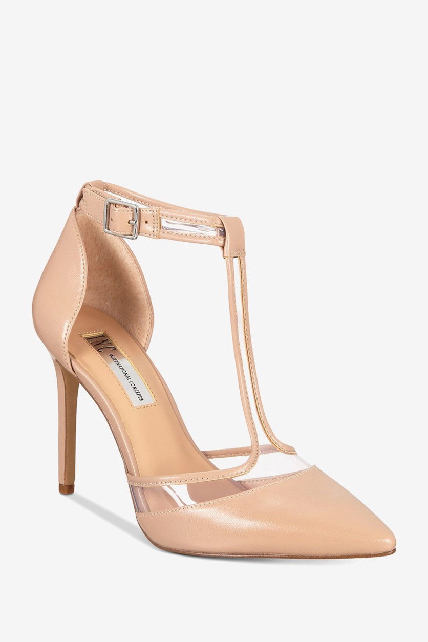 Women's Kaeley T-Strap Pumps, Maple Blush