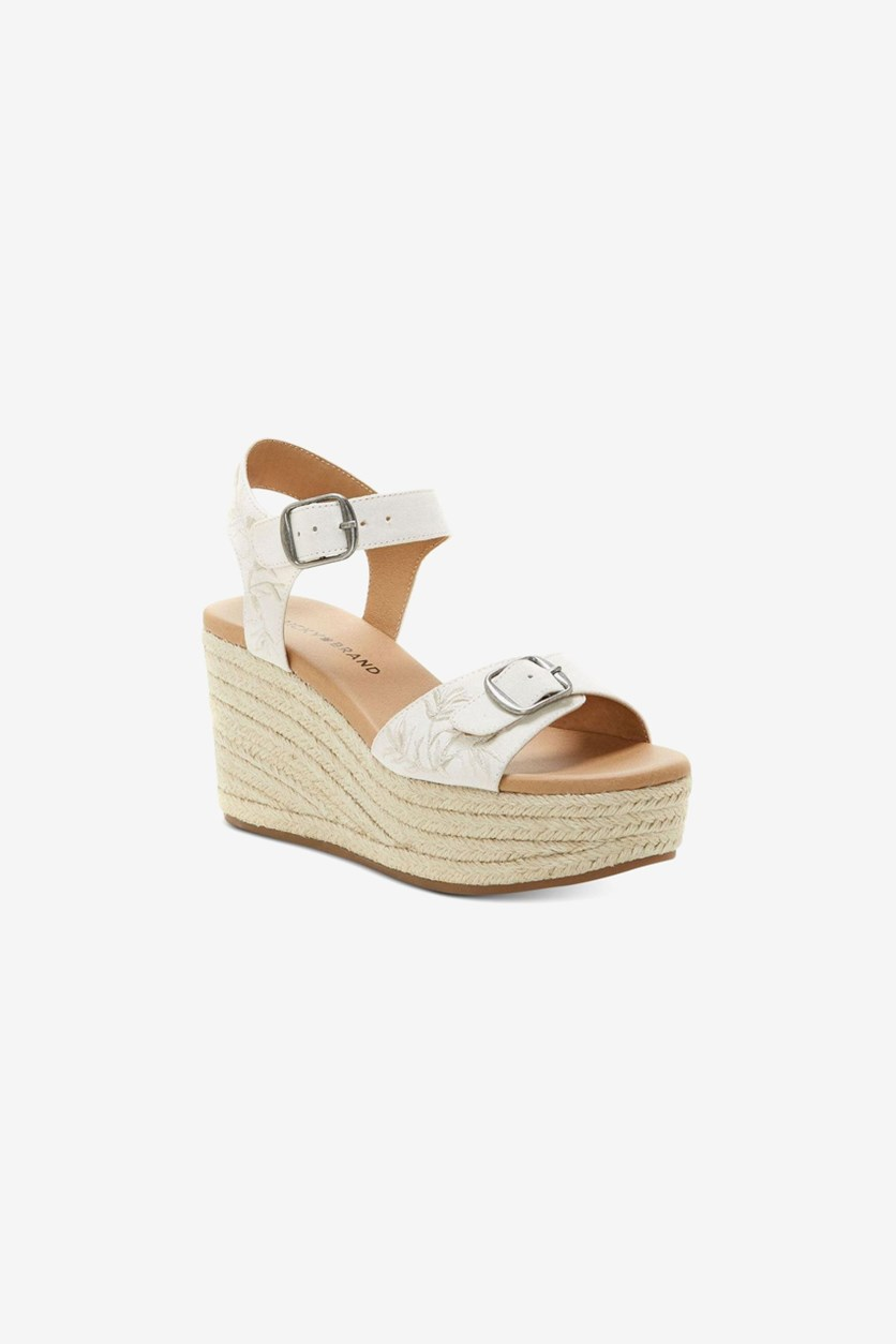 Womens Naveah 2 Wedge Sandals, Natural