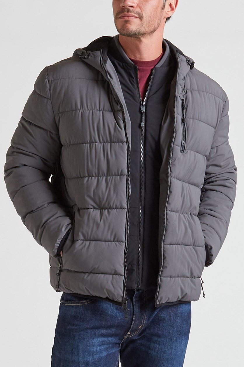 Bedford Stretch Jacket, Dark Grey