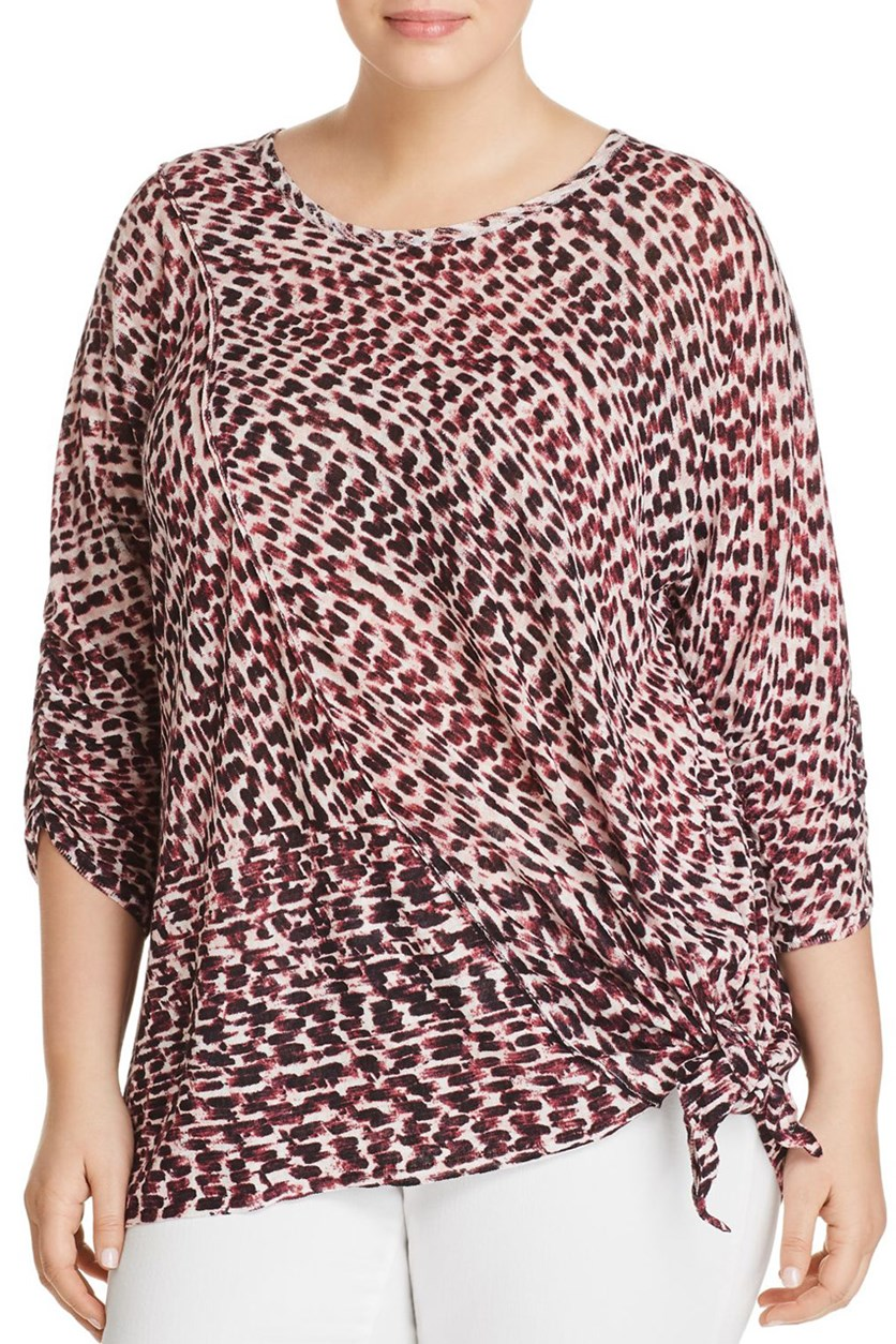 Women's Plus Top, Tiger