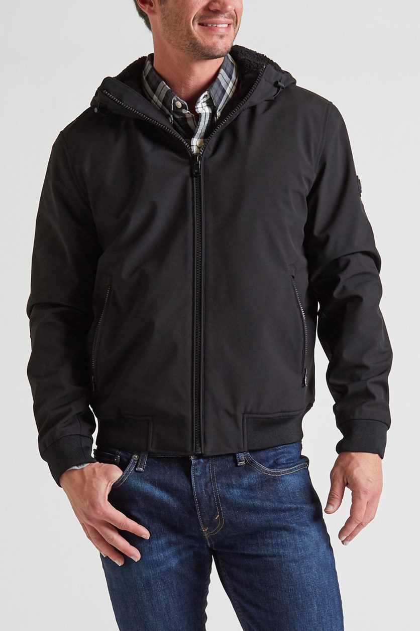 Men's Hague Sherpa Softshell Jacket, Black