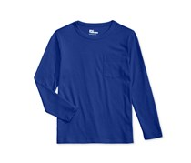 Epic Threads Boy's Solid Pocket T-Shirt, Blue