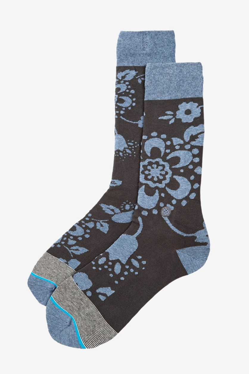 Men's Geoffery Socks, Blue