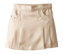 Nautica Big Girl's Stitched Pocket Scooter Skirt, Khaki