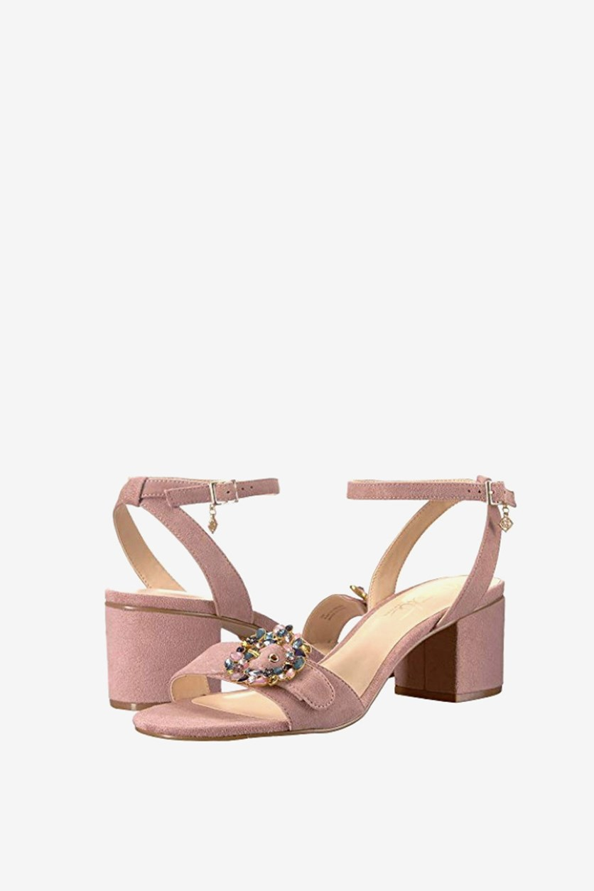 Buckle Dress Sandals, Pale Lilac