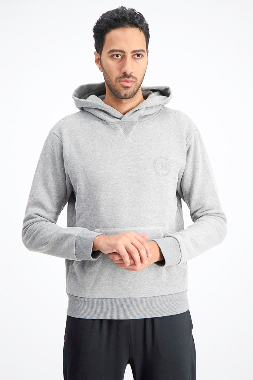 Men's Hoodie Sweater, Heather Grey