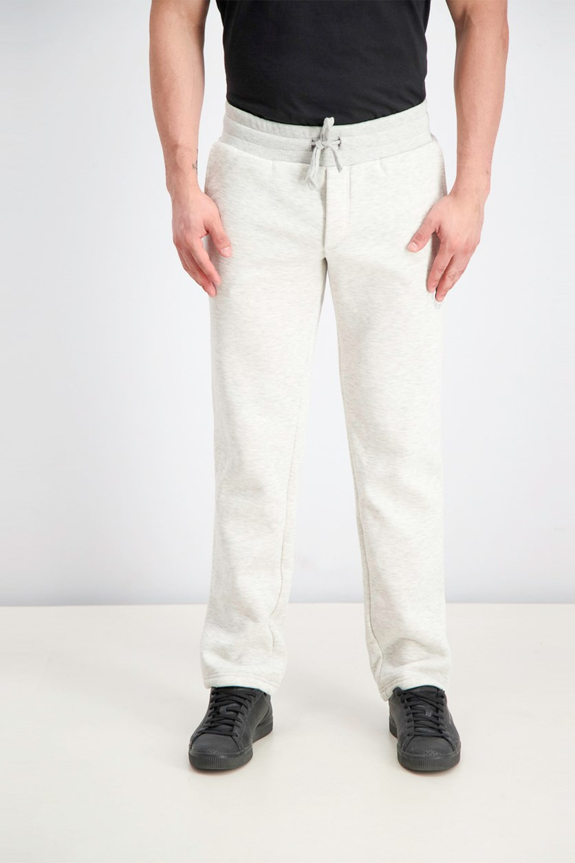 Men's Pants, White Heather