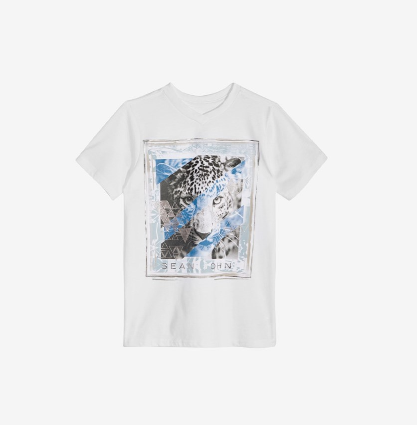 Big Boys Graphic-Print Cotton T-Shirt, White