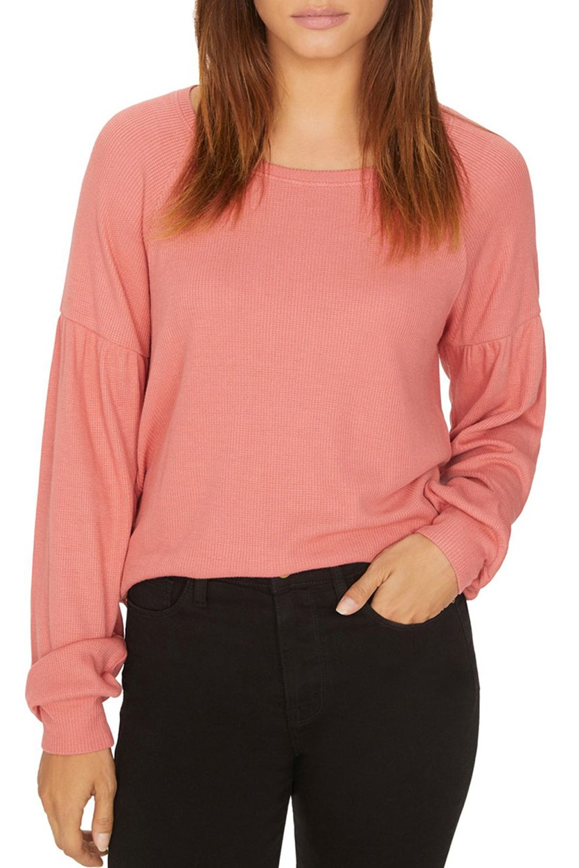 Women's Josephine Long Sleeves Thermal Top, Peach