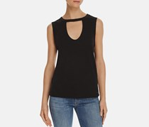 Women's Cutout Tank, Black