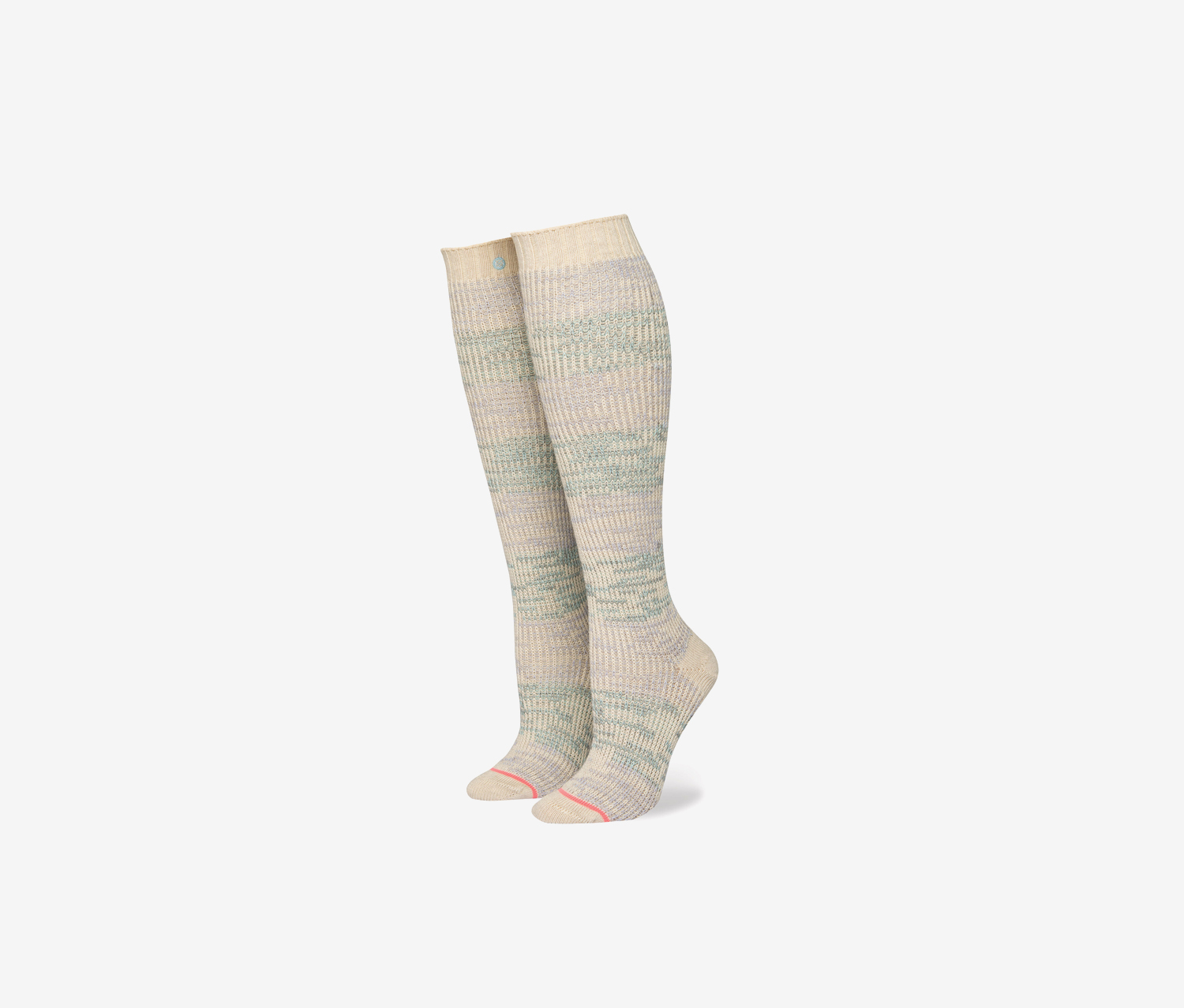 Women's Transcend Tall Boot Socks, Beige