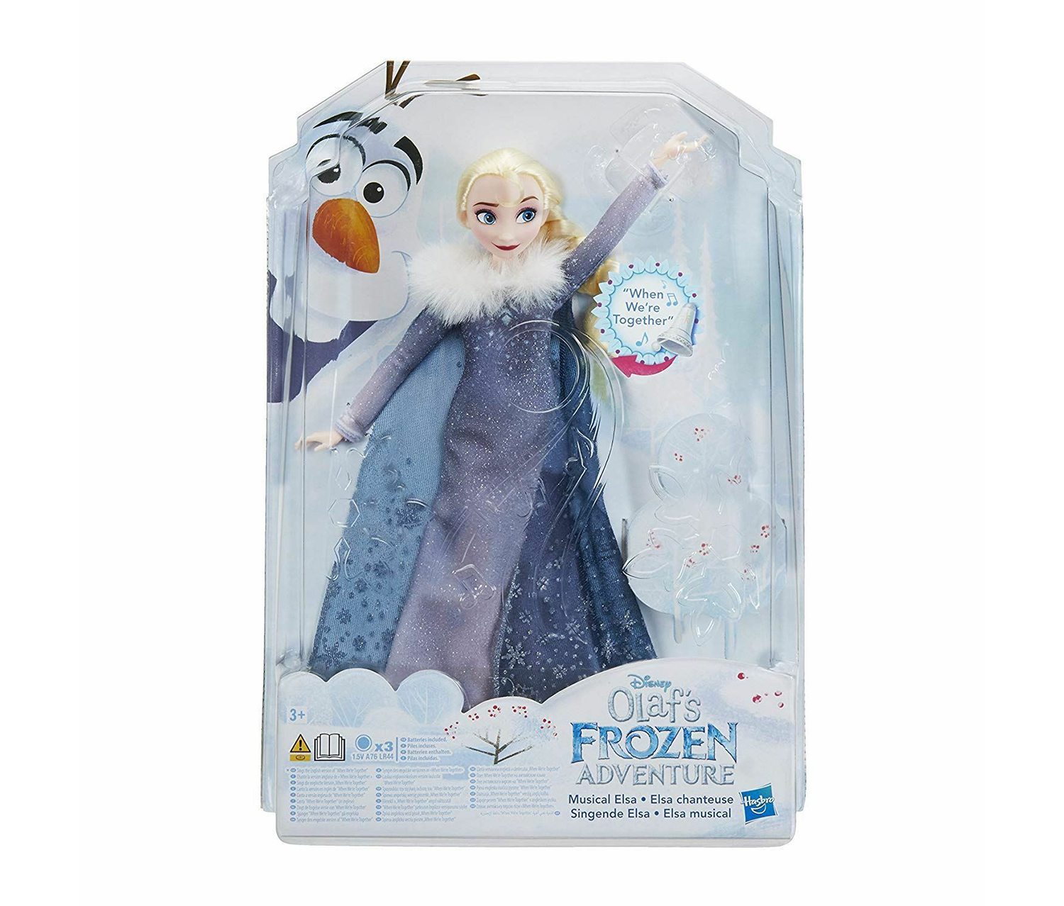 Disney Olaf's Frozen Adventure, Blue