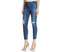 AG Adriano Goldschmied Women's Skinny Ankle Jeans, Blue