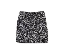 Bcx girls skirt  girls animal print grey
