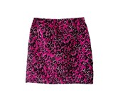 Pink animal body con skirt