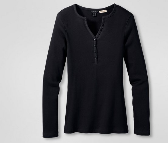 Women's Long Sleeve T-Shirts, black - Brands For Less