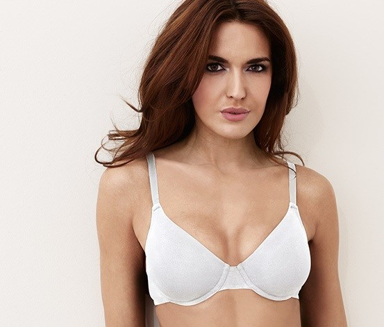 Women's Bra, White