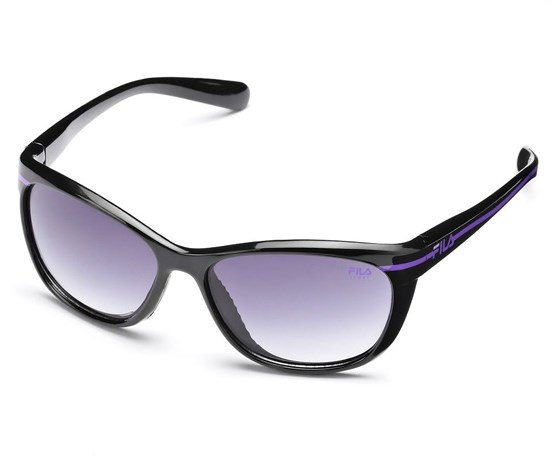 Fac5001 001 Fila Sport Cat S Eye Stripe Sunglasses Brands For Less