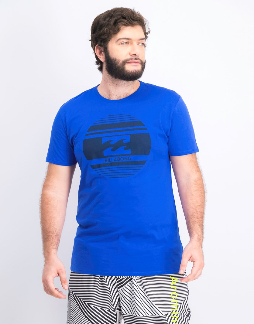 Men's Crew Neck T-Shirt, Cobalt
