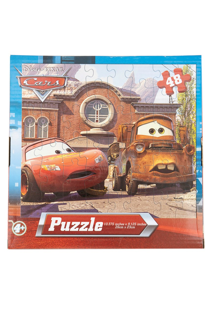 Cars 48-Piece Jigsaw Puzzle, Red Combo