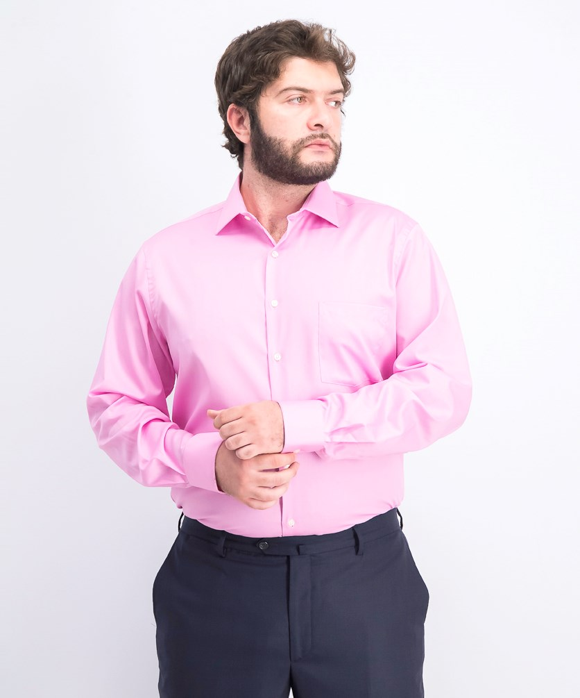 Flex Collar Regular-Fit Stretch Dress Shirt, Desert Rose