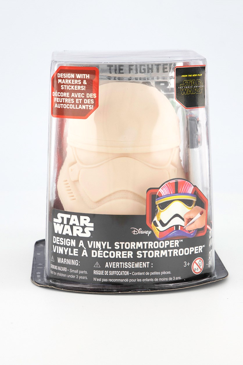 Star Wars Design a Vinyl Storm-trooper, Cream Combo