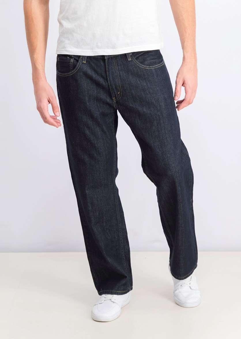Men's 559 Relaxed Straight Jean, Tumbled Rigid