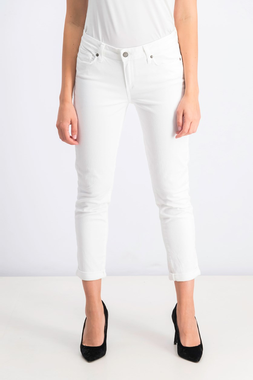 Women's Denim Kylie Crop Jeans, White