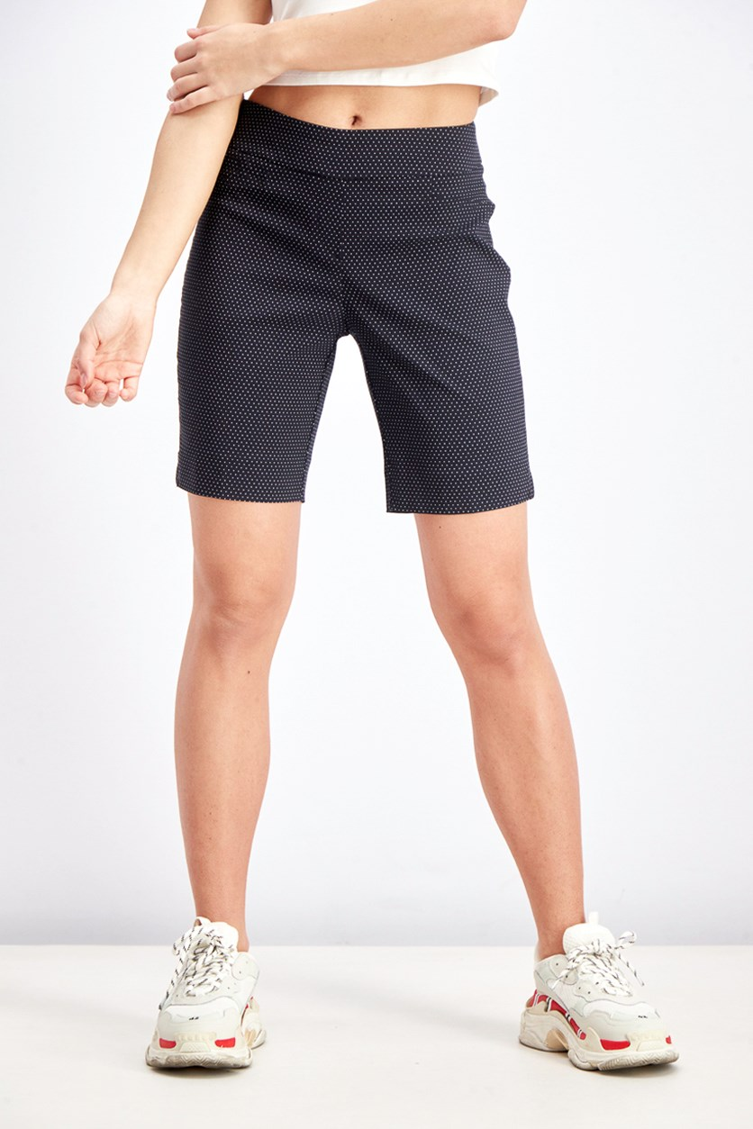 Women's Sits At The Waist Shorts, Black