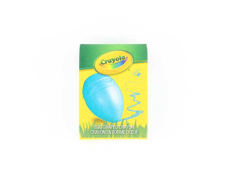 Egg Shaped Easy Palm Grip Crayons, Blue