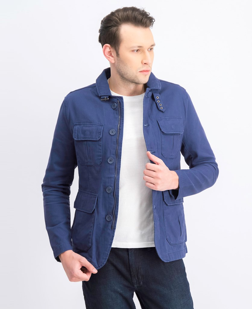 Men's Denim Jacket, Navy