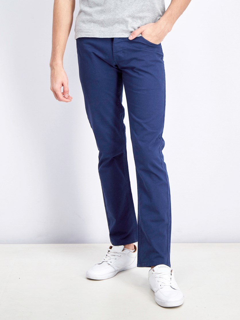 Men's Stay Pants, Blue